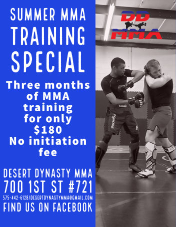 It's been a while  – Desert Dynasty MMA